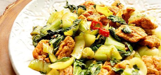 Bok Choy Spicy Tofu Recipe