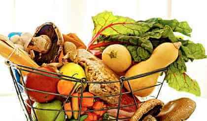 - Foods high in Potassium