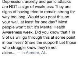 - Anxiety and Depression is not a Weakness