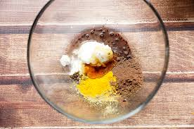 - Dark Cocoa and Yoghurt Face Mask