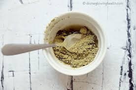 - Acne Reducing Matcha and Lemon Face Mask