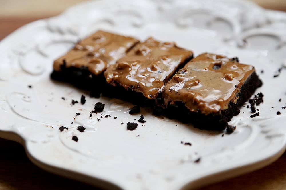 - Bittersweet Chocolate Almond Bars