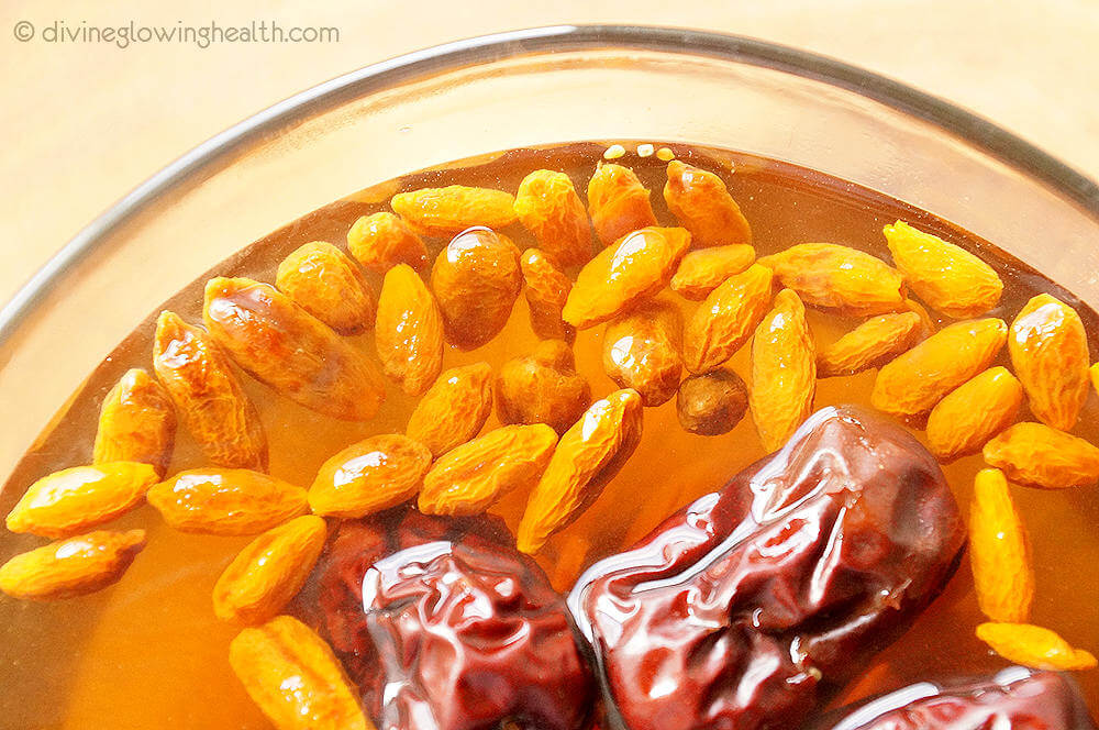 - Goji Berries, Red Dates and Longan Tea