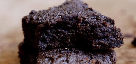 - Chocolate Flavoured Brown Rice Brownies