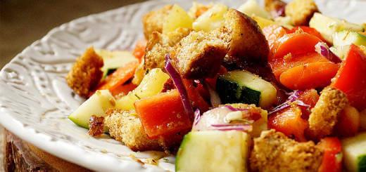 Crunchy Rainbow Veggie Salad