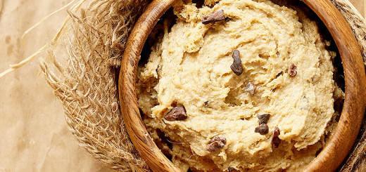 - Healthy Raw Chocolate Chip Vegan Cookie Dough