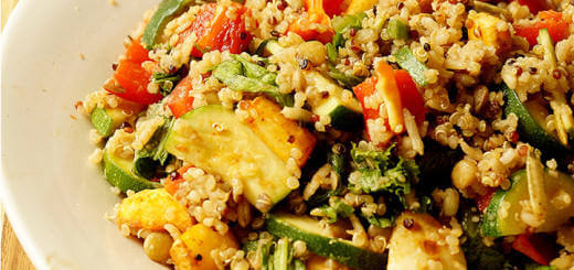 Quinoa_Lentil_Rice_Salad_Rainbow_Veggies_Roasted_Parsnips