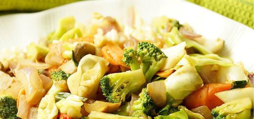 - Vegetable Stir Fry