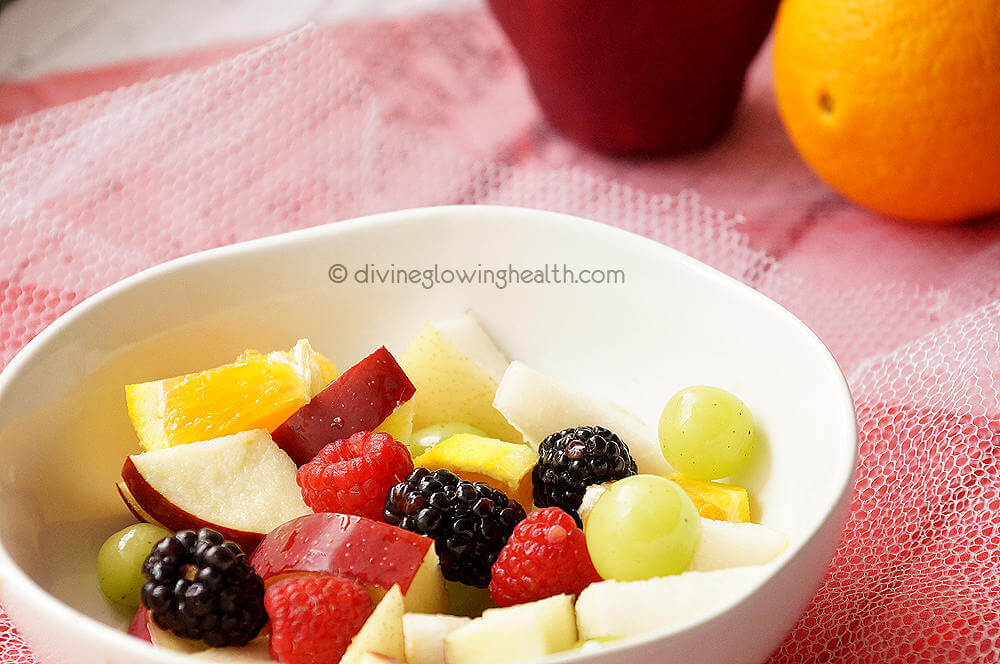 - Rainbow Fruit Salad