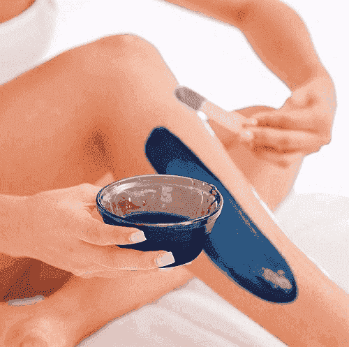 Waxing beans hair removal